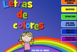 LETRAS DE COLORES (INFANTIL)
